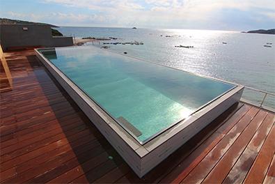piscine inox vannes dans le 56 bleu atlantic. Black Bedroom Furniture Sets. Home Design Ideas